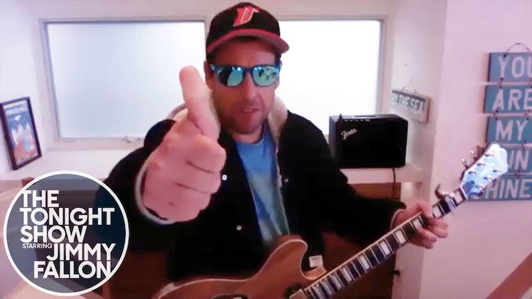 Adam Sandler Has Written an Adorable Quarantine Song