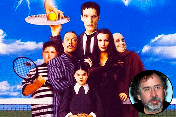 Tim Burton Is Working on a Live-Action 'Addams Family' TV Show