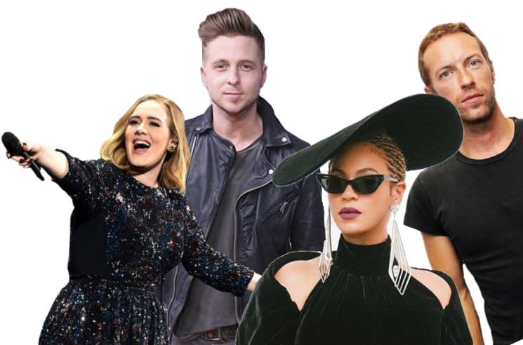 Beyoncé and Adele Definitely Don't Appear Together on a New OneRepublic Song