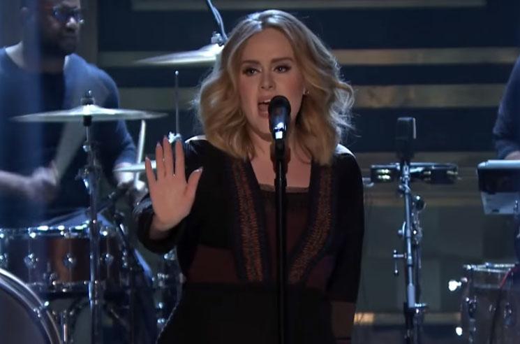 "Adele ""Water Under the Bridge"" (live on 'Fallon')"