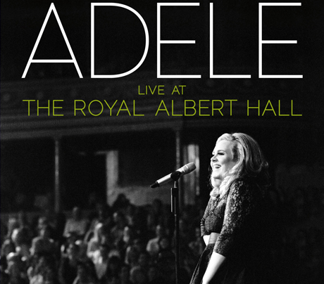 Adele Announces 'Live at the Royal Albert Hall' CD/DVD