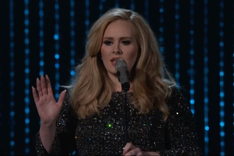 Adele Wins Oscar for Best Original Song for 'Skyfall'
