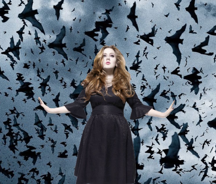 Watch Adele Freak Out as a Bat Flies Around Her Stage
