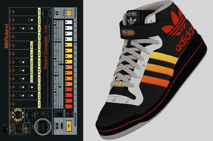 These Adidas Sneakers Feature a Built-in TR-808 Drum Machine