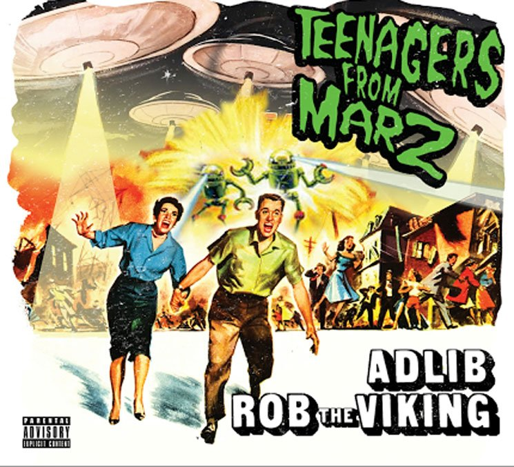 Adlib and Rob the Viking Detail Collaborative Album