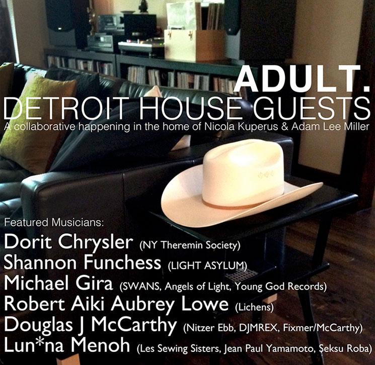 Adult. Get Michael Gira, Dorit Chrysler for Collaborative Album Experiment