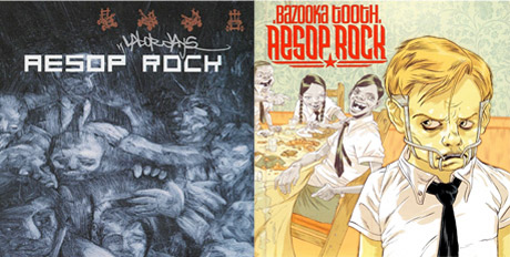 Aesop Rock Treats 'Labor Days' and 'Bazooka Tooth' to Vinyl Reissues