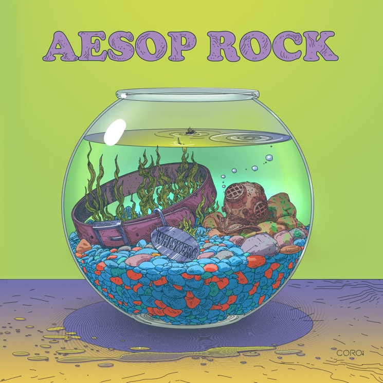 Aesop Rock 'Cat Food' (EP stream)