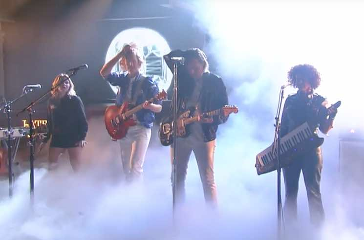 Watch ​Arcade Fire Perform on 'The Late Show with Stephen Colbert'