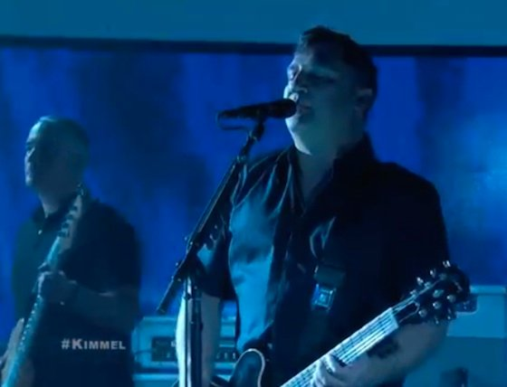 The Afghan Whigs 'The Lottery' / 'I Am Fire' / 'Tusk' (live on 'Kimmel')