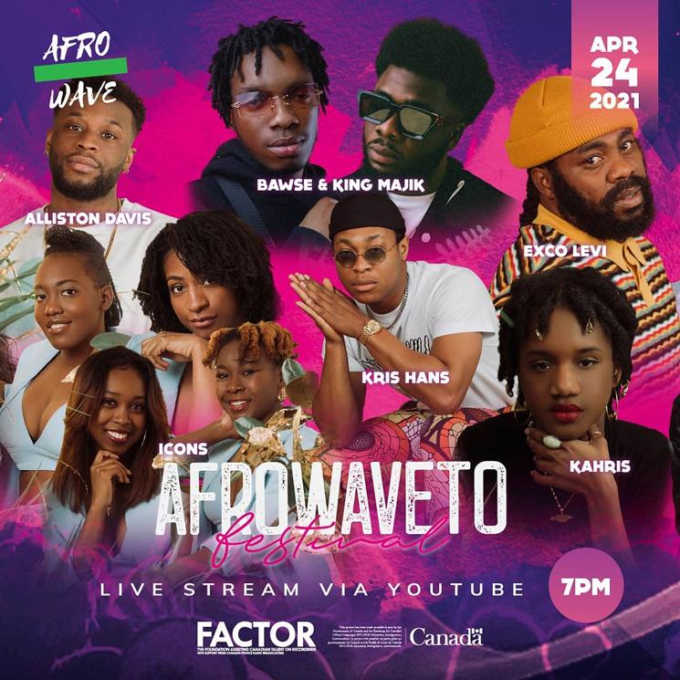 Toronto's AfroWaveTO Announces Inaugural Festival with Exco Levi, Kirk Diamond