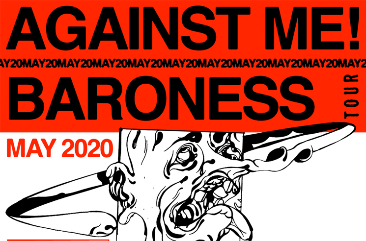 Against Me! and Baroness Cancel North American Tour