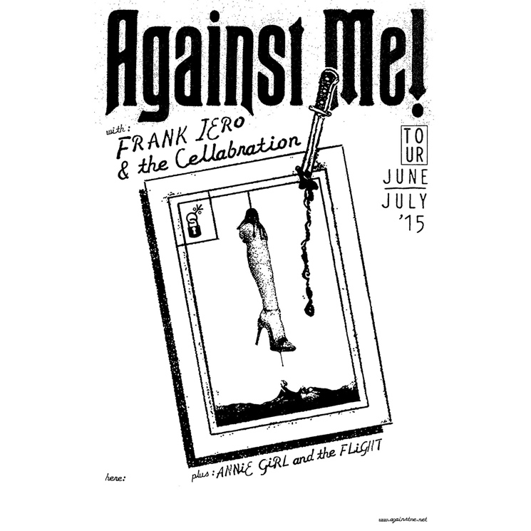 Against Me! Book North American Summer Tour