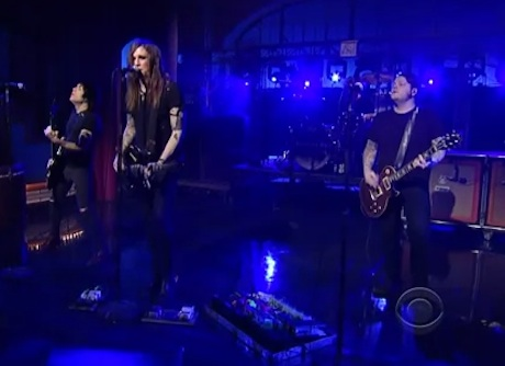 "Against Me! ""FUCKMYLIFE66"" (live on 'Letterman')"