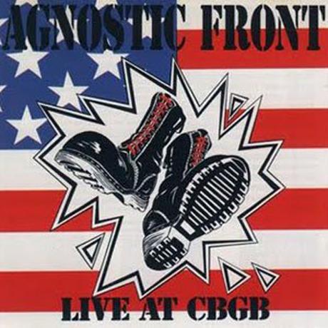 Agnostic Front Reissue 'Live at CBGB'