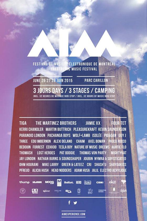 Montreal's AIM Festival Gets Jamie xx, Four Tet, Tiga
