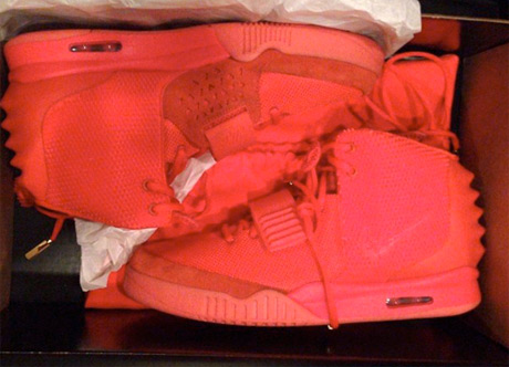 Kanye's Red October Shoes Sell Out Instantly, End Up on eBay for $18 Million