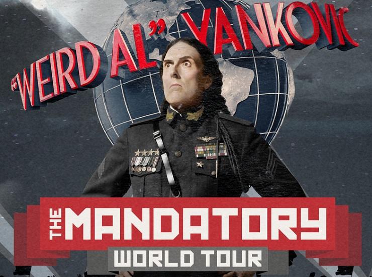 """Weird Al"" Announces ""The Mandatory World Tour"""