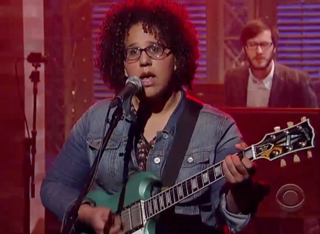 "Alabama Shakes ""Hold On"" (live on 'Letterman')"