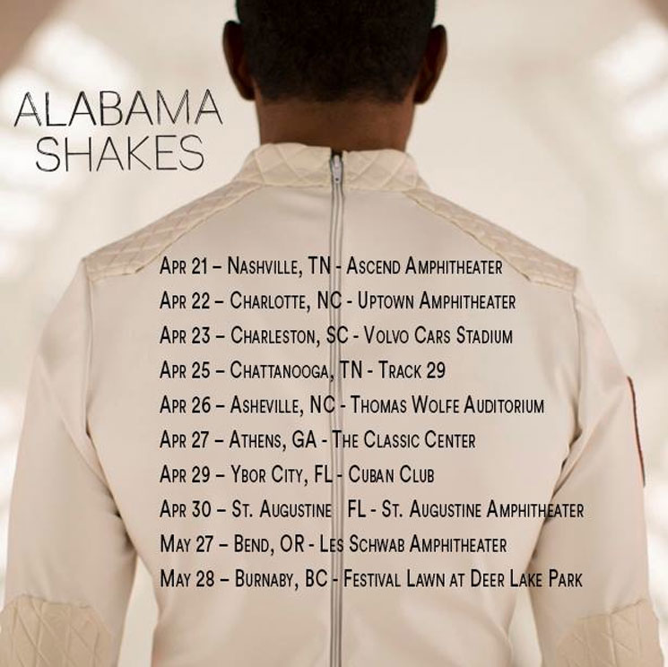 Alabama Shakes Reveal Spring North American Tour