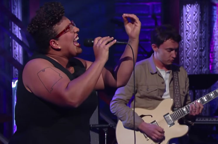 "Alabama Shakes ""Joe"" (live on 'Colbert')"