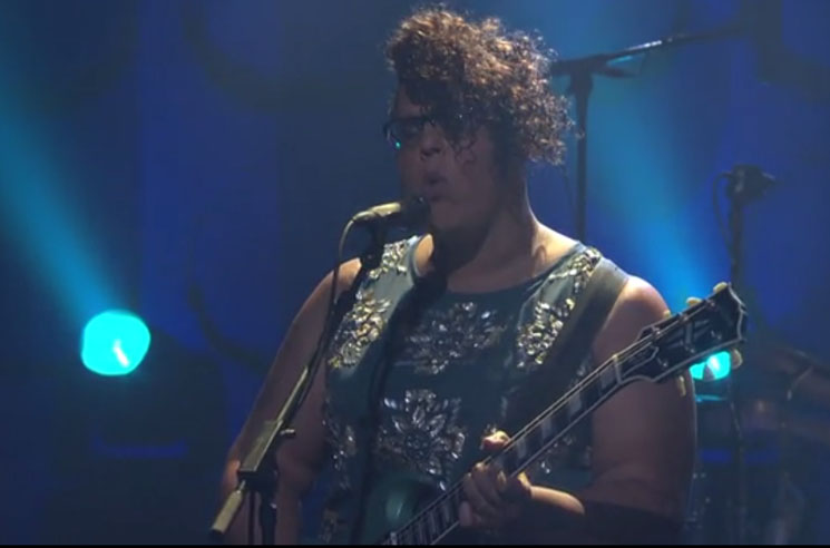 Alabama Shakes 'Gimme All Your Love' / 'Future People' (live on 'Conan')