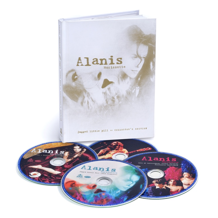 Alanis Morissette's 'Jagged Little Pill' Gets Expanded 20th Anniversary Reissue