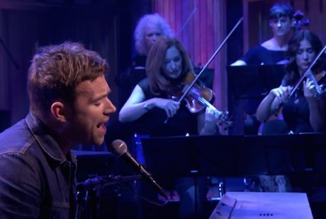 "Damon Albarn ""This is a Low"" / ""Lonely Press Play"" (live on 'Fallon')"