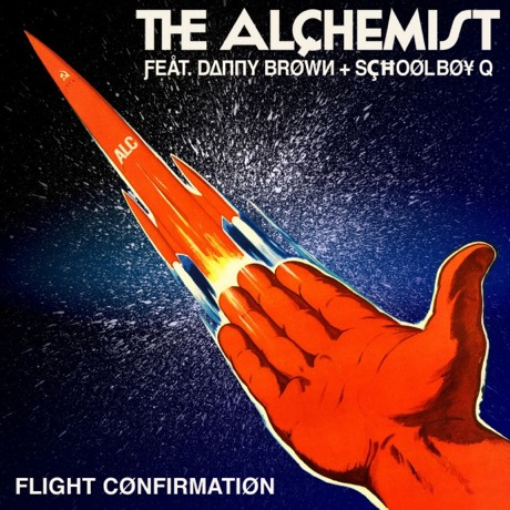 "The Alchemist ""Flight Confirmation"" (ft. Danny Brown & Schoolboy Q)"