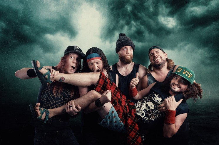 Pirate Metal Band Alestorm Explain Why They're Touring Canada with Giant Inflatable Ducks