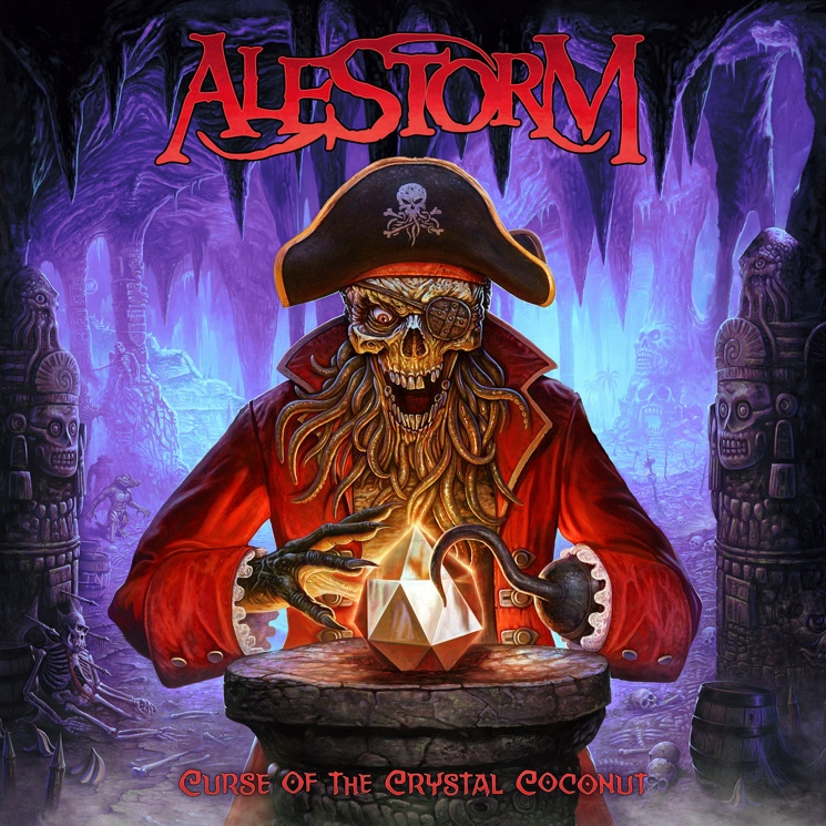 Like a Cask of Rum, Alestorm's Merry Pirate Metal Gets Stronger with Age on 'Curse of the Crystal Coconut'