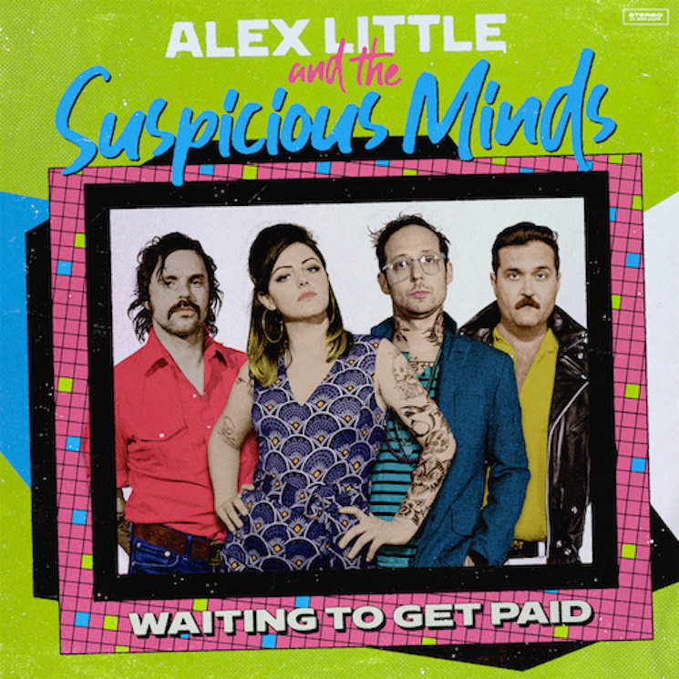 Alex Little & the Suspicious Minds Release Debut Album 'Waiting to Get Paid'