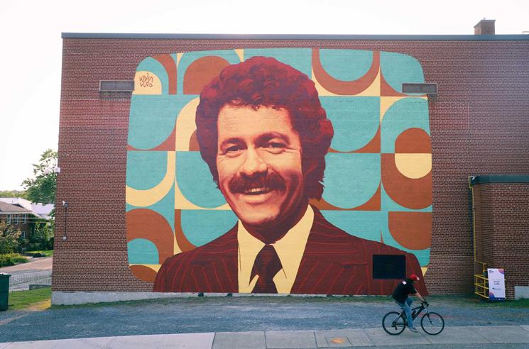 Sudbury's Three-Storey Alex Trebek Mural Is Complete