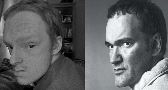 Alex Calder Transforms into Quentin Tarantino with New Instagram Project