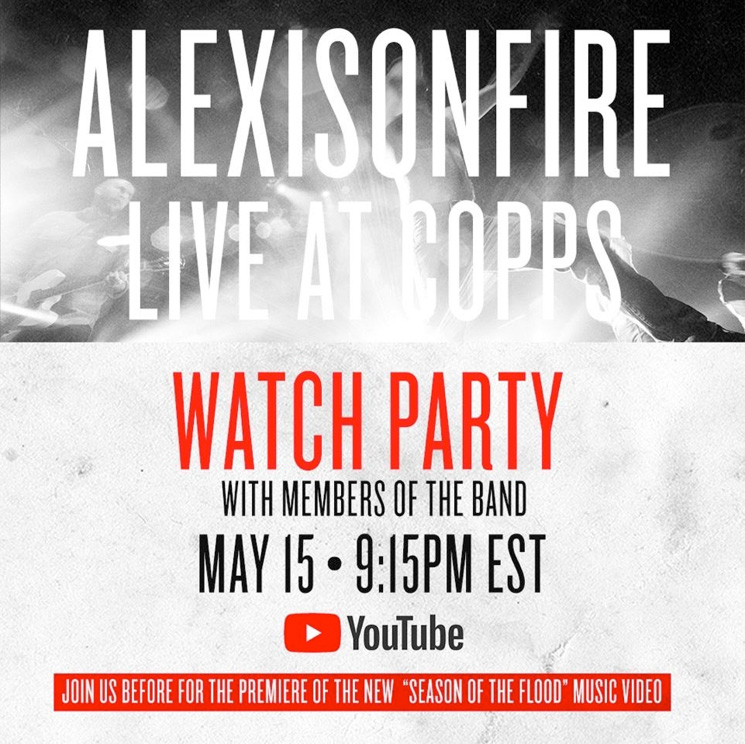 Join Alexisonfire During Their Special Watch Party Tonight
