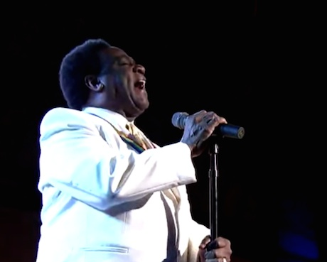 Al Green 'Tired of Being Alone' / 'Let's Stand Together' (live on 'Letterman')