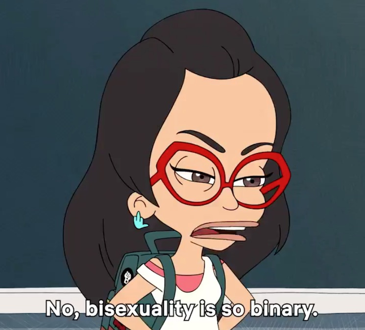 Netflix's 'Big Mouth' Under Fire for Clumsy Depiction of Bisexuality and Pansexuality