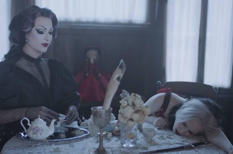 Alice Glass Enlists Former 'Drag Race' Winner Violet Chachki for 'Mine' Video