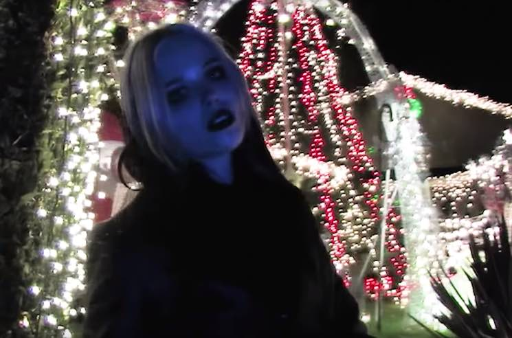 "Alice Glass Unveils Darkly Festive ""I Trusted You"" Video"