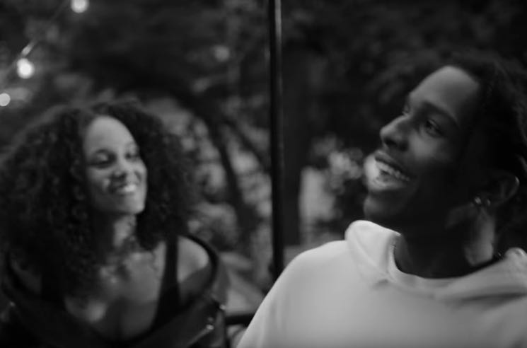 """Alicia Keys and A$AP Rocky Share """"Blended Family"""" Video"""