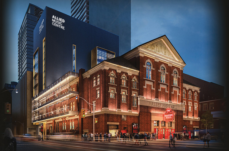 Massey Hall Will Now Be Part of the Allied Music Centre