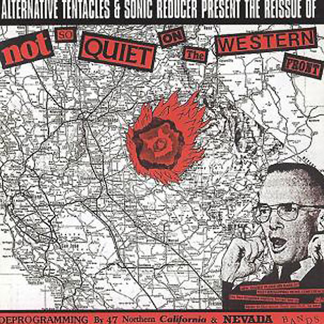 Alternative Tentacles Reissues 'Not So Quiet on the Western Front' Comp Featuring Dead Kennedys, 7 Seconds, Flipper