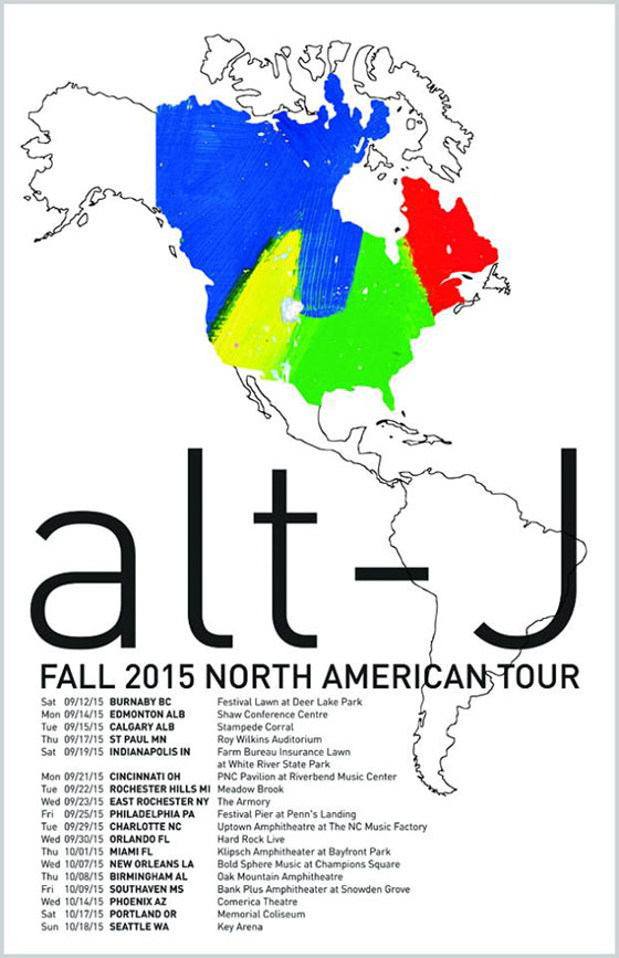 Alt-J Hit Canada on Additional North American Dates