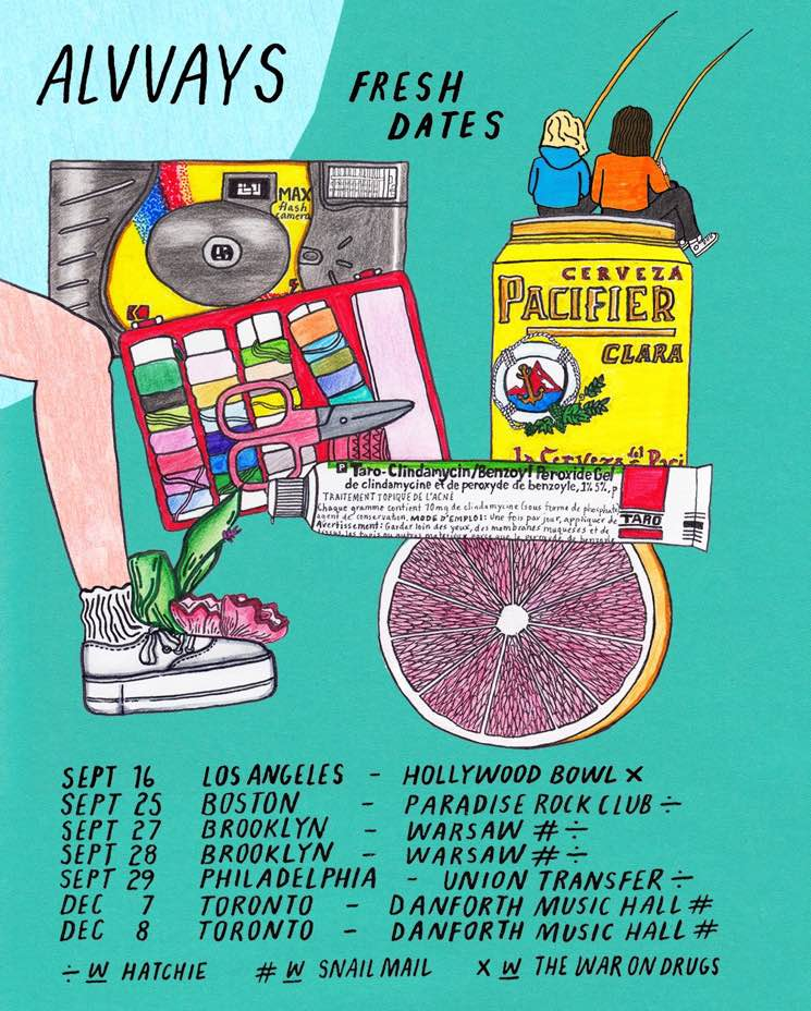 ​Alvvays Plot More North American Tour Dates