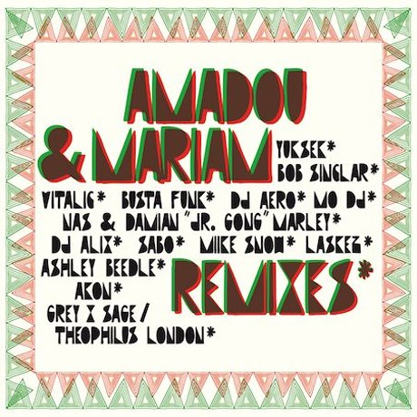 Amadou & Mariam Recruit Nas, K'naan, Miike Snow for Remix Album