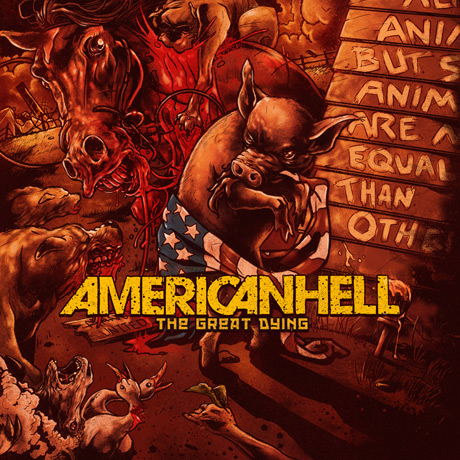American Hell 'The Great Dying' (album stream)