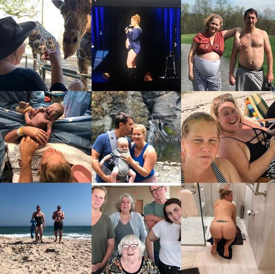 Amy Schumer Shares New Photo of Son's Birth in Instagram Collage