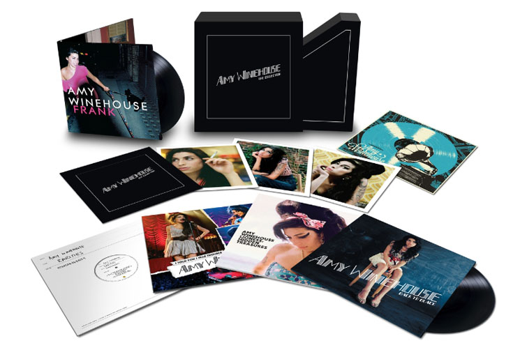 Amy Winehouse Catalogue Treated to Vinyl Box Set