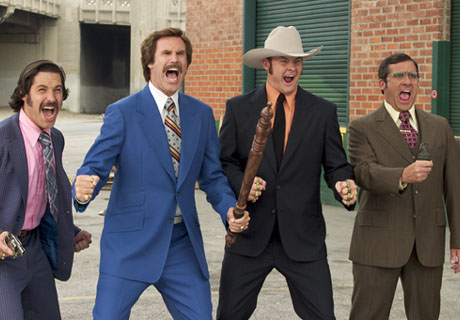 Anchorman: The Legend of Ron Burgundy Adam McKay