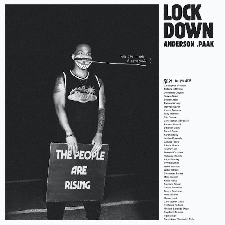 Anderson .Paak Returns with New Single 'Lockdown'